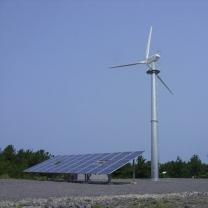 10KW Hybrid Wind Solar Energy System