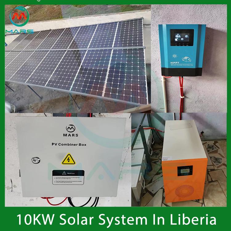 10 000 watt solar panel system