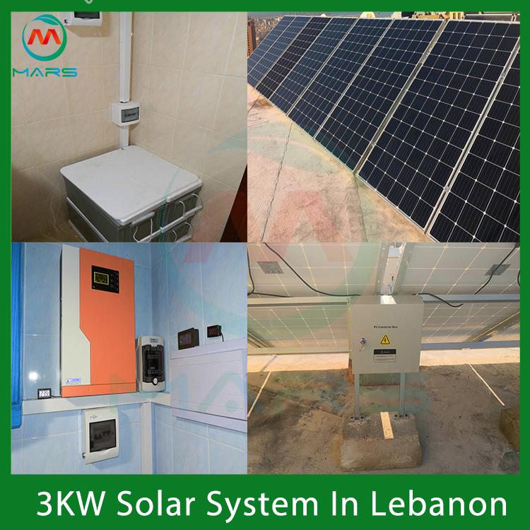 3KW Solar Power System Kit For Home In Lebanon