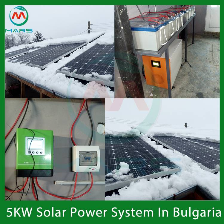 5KW Solar Energy Kit In Bulgaria