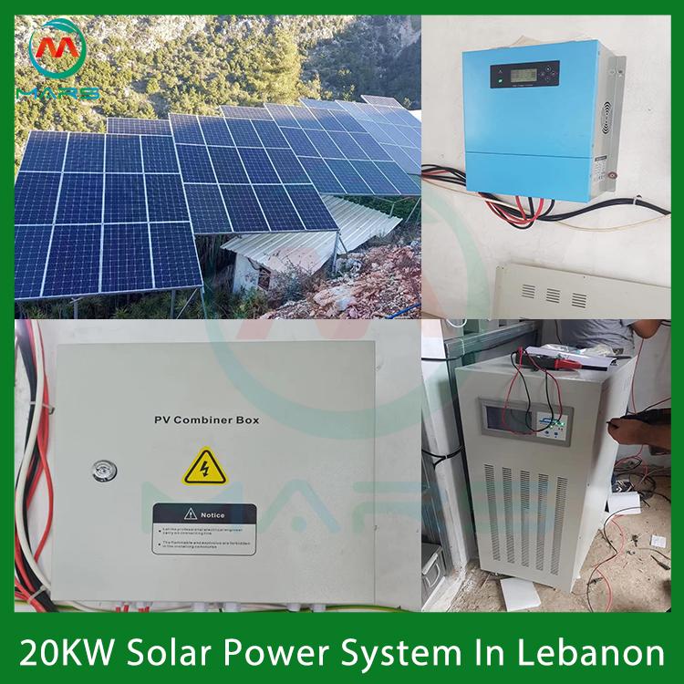 20KW Mppt Solar Kit In Lebanon