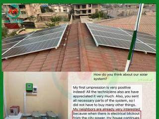 5KW Solar Roof Mount Kit in Republic Of Congo