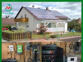 12KW Home Solar Panel Kits With Batteries In USA